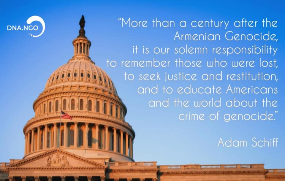 U.S. House Recognizes Armenian Genocide
