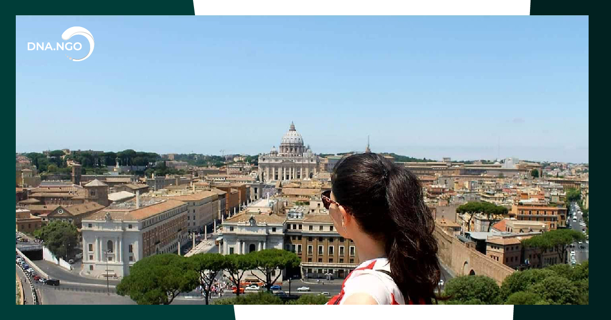 Travel tips from DNA. Let's travel to Italy