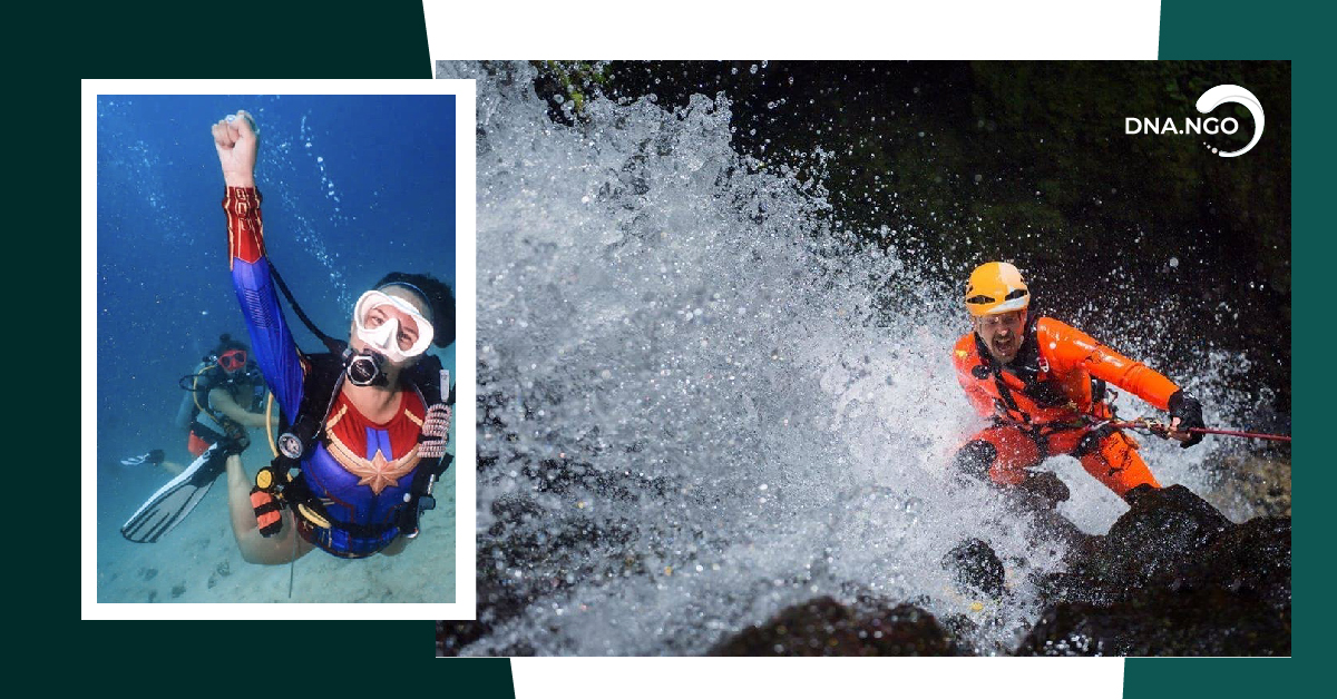 Adventure Tourism: Canyoning, Rafting, Diving